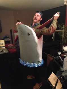 /Film  reader Donavon S's Jaws halloween costume