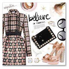 """Some inspiration..."" by dressedbyrose ❤ liked on Polyvore featuring moda, RED Valentino, Miu Miu, Tomasini, Martha Stewart, Tod's y Ippolita"