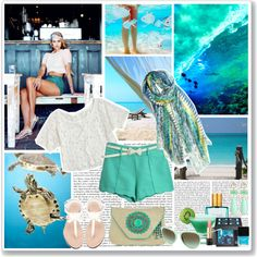 Ocean., created by saralemon on Polyvore