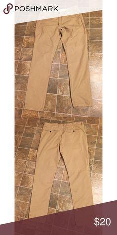Men's slim fit khakis pants Men's Tan Khakis Pants Chinos & Khakis