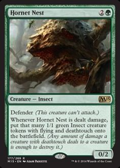 Hornet-Nest-x4-Magic-the-Gathering-4x-Magic-2015-mtg-card-lot-rare-green