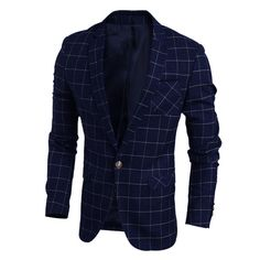 Blue Fashion Blazer