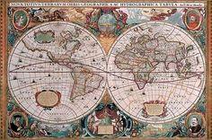 Puzzle 5000 piezas Mapamundi histórico