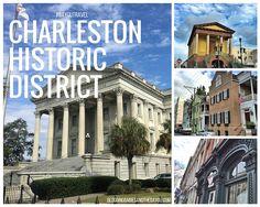 Sights of Downtown Historic District Charleston, South Carolina near the Carnival Cruise Port #BayouTravel