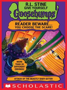 Attack of the Beastly Babysitter by R.L.Stine - Available to download from Doncaster Libraries digital library