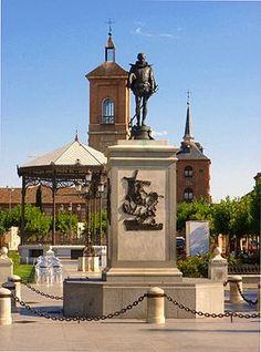 Place Cervantes, Alcala de Henares, Madrid