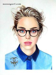 A arte da Natalia Vasilyeva