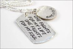 Personalized Army Necklace with Name | Soldiers & Jesus Necklace, Army Wife Necklace, Military Wife Necklace