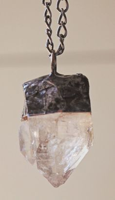 Mother/Daughter Quartz Pendant