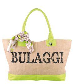 Deze super zomerse jute shopper van Bulaggi is perfect te gebruiken voor bijvoorbeeld uitjes naar het strand of een dagje weg.