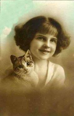 Magic Moonlight Free Images: The Beauty and The Cat!