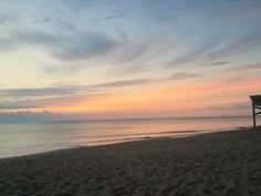 Watching the sun rise in Kitty Hawk. By Holly Hamilton