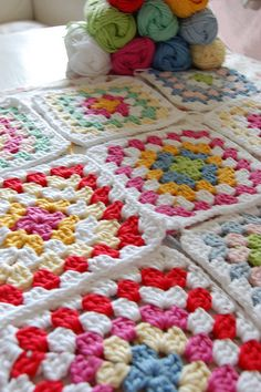 granny squares | Flickr - Photo Sharing!