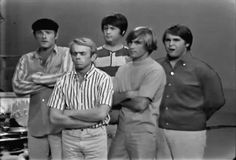 The Beach Boys on The Jack Benny Show in 1965