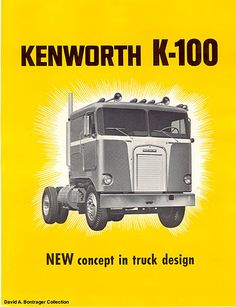 Old Kenworth Ad