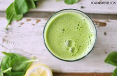 Spinach Lemonade Juice