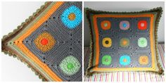 """created by cristina at """"my world of wool"""" blog  love the color scheme"""
