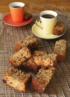 Low sugar high fibre rusk recipe - will replace the non-nutritive sweetener.