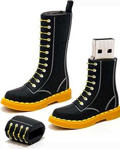 "Doc Martens ""bootable"" flash drive"