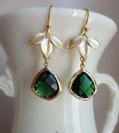 emerald green,want these:)