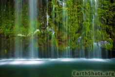 Mossbrae Falls (photo by Stephen Oachs) ~ This is going on my California Bucket List!