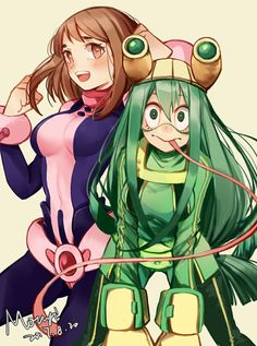 Uravity & Froppy. They are so cute!