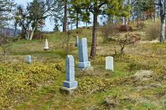 Mosier Pioneer Cemetery, Mosier, Oregon (image by J. Gauthier)
