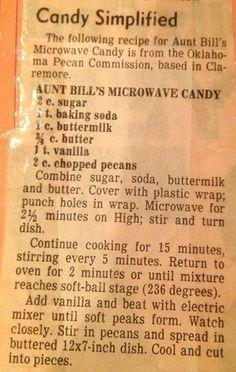 Retro Recipes, Old Recipes, Vintage Recipes, Sweets Recipes, Candy Recipes, Holiday Recipes, Cookie Recipes, Christmas Desserts, Christmas Candy