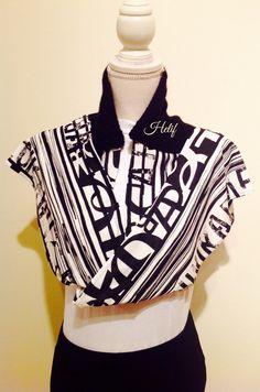 Nouvelle collection,Écharpe,Étole,noir et blanc,Chicago Graphics : Echarpe, foulard, cravate par segalita2