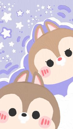 Soft Wallpaper, Iphone Background Wallpaper, Photo Wallpaper, Tsum Tsum Wallpaper, Disney Wallpaper, Walpaper Iphone, Cute Disney, Disney Art, Chip And Dale