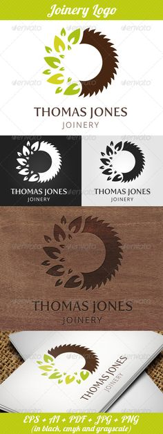 Joinery Logo  #GraphicRiver         Logo Template for Joinery, Carpenter, Wood Carving Business or Forestry Industry  	 Included:  	 EPS, AI, PDF, JPG (3000×3000px), PNG (3000×3000px) All in black, cmyk and grayscale color mode!  	 Fonts:  	 Jenna Sue – .fontsquirrel /fonts/jenna-sue Fertigo – .fontsquirrel /fonts/Fertigo-Pro  	 Enjoy!     Created: 4July13 GraphicsFilesIncluded: TransparentPNG #JPGImage #VectorEPS #AIIllustrator Layered: Yes MinimumAdobeCSVersion: CS2 Resolution: 3000x3000