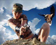 Girl Women Handling Gun HD Wallpaper | Stylish HD Wallpaper ...
