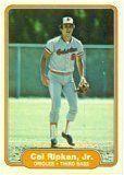 1982 Fleer Cal Ripken Jr. Rookie Baseball Card in Protective Display Case by Fleer. $37.95. 1982 Fleer Cal Ripken Jr. Rookie Baseball Card in Protective Display Case
