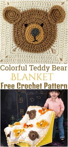 I have rounded up a huge list of free crochet teddy bear patterns for you to get inspired by these cute and soft teddy bears. You could absolutely make them with your own crochet hooks Crochet Teddy Bear Pattern, Animal Knitting Patterns, Crochet Dolls Free Patterns, Stuffed Animal Patterns, Amigurumi Patterns, Free Crochet, Stuffed Animals, Bear Blanket, Lana