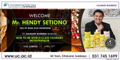 How to be World Class Culinary Entrepreneur Workshop by Hendy 'Baba Rafi'