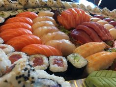 I want sushi for dinner!