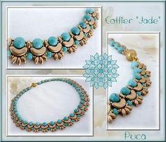 Beaded necklace from arcos & minos beads