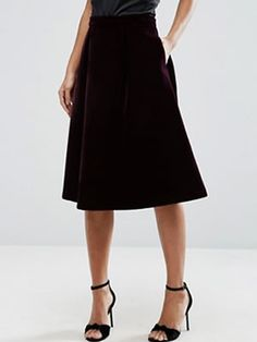 Discover midi skirts with ASOS. Shop from a range of pleated, A-line skirts, calf length skirts and other midi skirt styles. Shop today at ASOS. Pleated Skirt, Midi Skirt, High Waisted Skirt, Asos Online Shopping, Online Shopping Clothes, Latest Fashion Clothes, Fashion Online, Calf Length Skirts, Holiday Looks