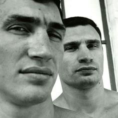 Wladimir & Vitali -   Heavyweight champions of the world.