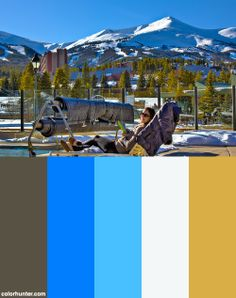 Breckenridge 2011 At The Main Street Station Pool Color Scheme