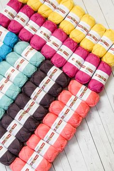 Our newest Valley Yarn is Conway! This DK weight cotton and acrylic blend replaces our much-loved and now discontinued Longmeadow. It's great for knit and crochet projects! Informations About Valley Yarns … Dk Weight Yarn, Camping Gifts, Diy Hacks, Creative Gifts, Fabric Crafts, Crochet Projects, Knit Crochet, Crochet Hooks, Ribbon