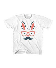 Another great find on #zulily! White Hip Hopster Tee - Toddler & Boys #zulilyfinds