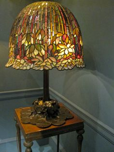 Louis Comfort Tiffany and Clara Driscoll: Bringing Nature's Beauty to Light Art Glass Lamp, Tiffany Stained Glass, Lamp, Beautiful Lamp, Louis Comfort Tiffany, Tiffany Style Lamp, Tiffany Lamps, Vintage Lamps, Glass Lighting