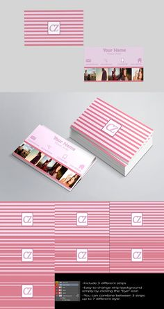 Picflat Business Card Template