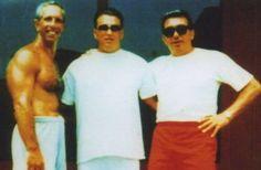 "(Left) Oreste Abbamonte of Gambino family, NY. (Center) Nicodemo ""Nicky Slick"" Dipietro of & Oregon crew in Philly. (Right) John Carneglia of Gambino family, NY. Gangster Party, Real Gangster, Mafia Gangster, Mafia Crime, Mafia Families, Neutral, The Girlfriends, Tough Guy, Italia"