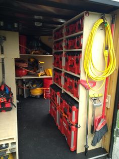 Trailer Shelving, Van Shelving, Trailer Storage, Truck Bed Storage, Van Storage, Tool Storage, Cargo Trailers, Utility Trailer, Garage Organization Tips