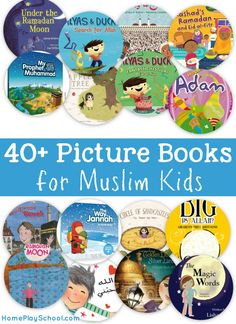 Introduce your young children to Islamic history and the deen, with this compilation of more than 40 picture books for Muslim kids.