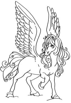 443 Best Coloring Horses Images On Pinterest Coloring Pages Adult