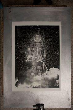 die rakete : phosphorescent ink by ~tind on deviantART