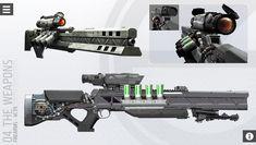 Killzone railgun rifle.